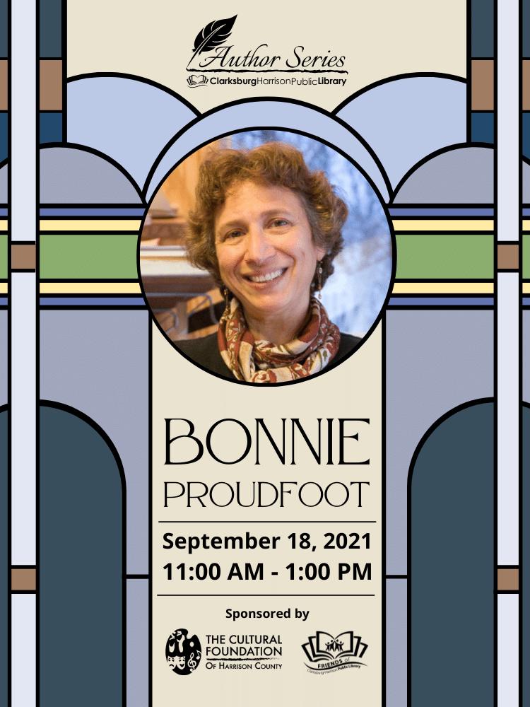Author Series: Bonnie Proudfoot