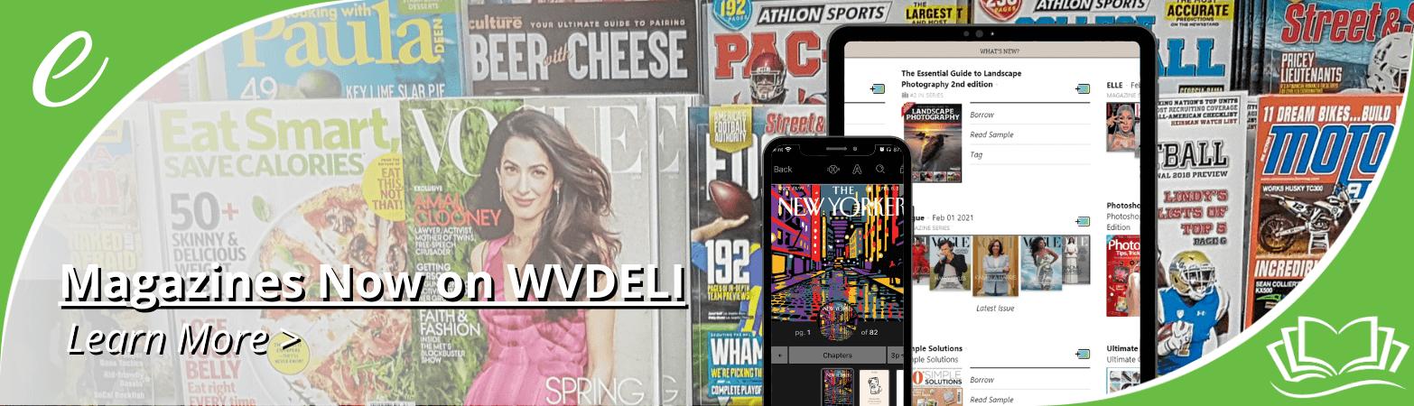 Magazines on WVDELI